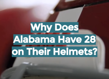Why Does Alabama Have 28 on Their Helmets?